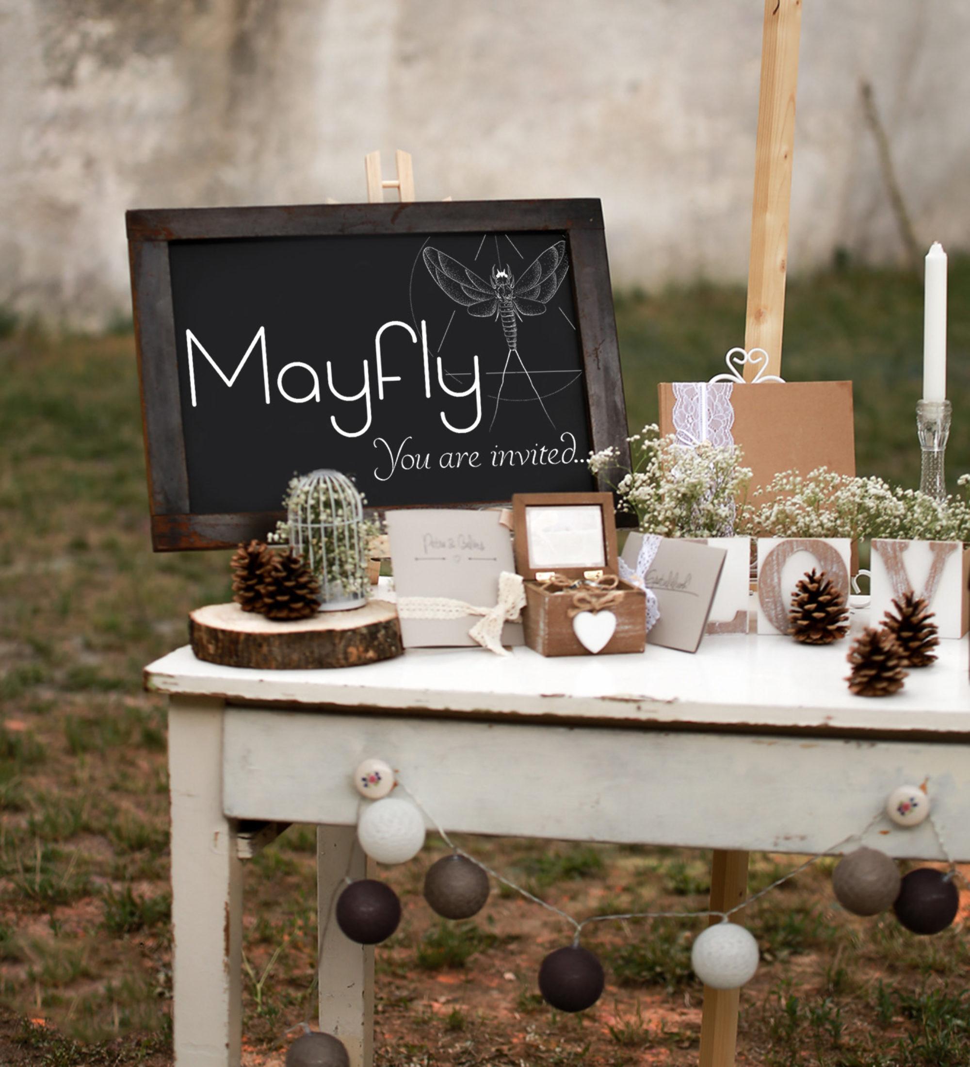 Esküvői meghívó és dekoráció